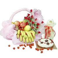 과일꽃바구니세트