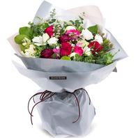장미혼합꽃다발1