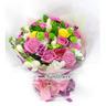 꽃다발 핑크혼합
