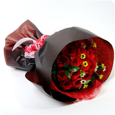꽃다발 붉은사랑