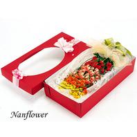 장미100송이 혼합 꽃상자