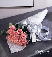 꽃다발 사랑핑크