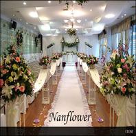 호텔생화꽃장식