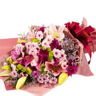 꽃다발 행복가득혼합